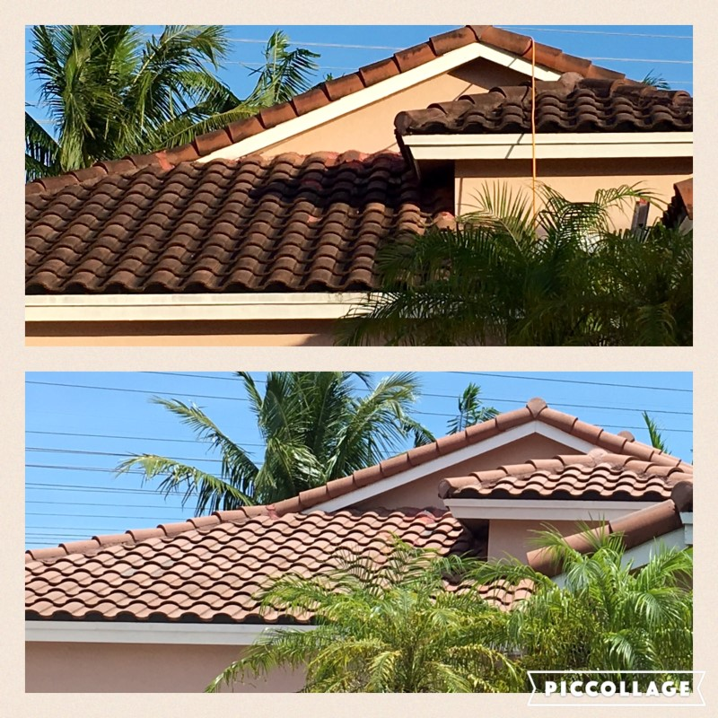 Miami No Pressure Roof Cleaning - Pressure Washing Services